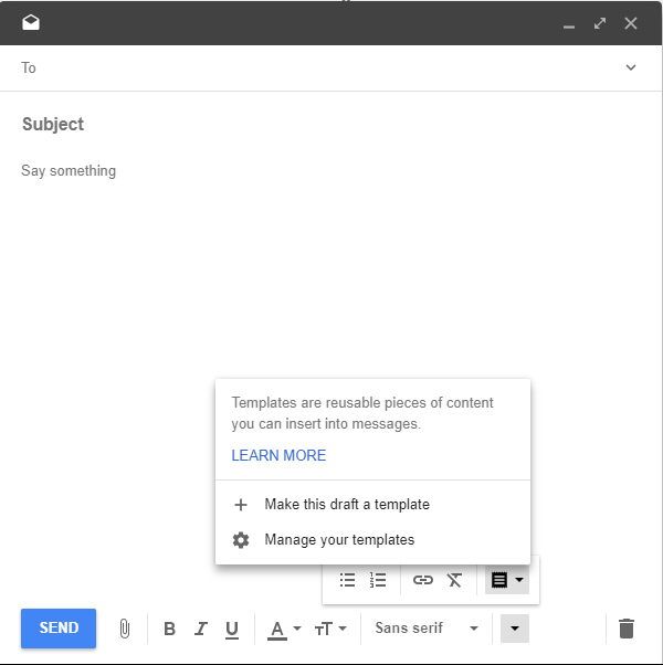 Google Inbox User? How to Use Email Templates for Fast and Efficient ...