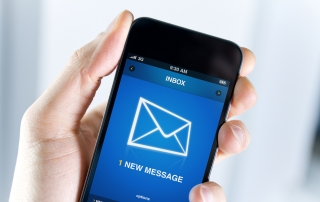 Get important emails by text